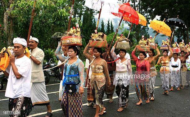 Balinese Funeral Procession