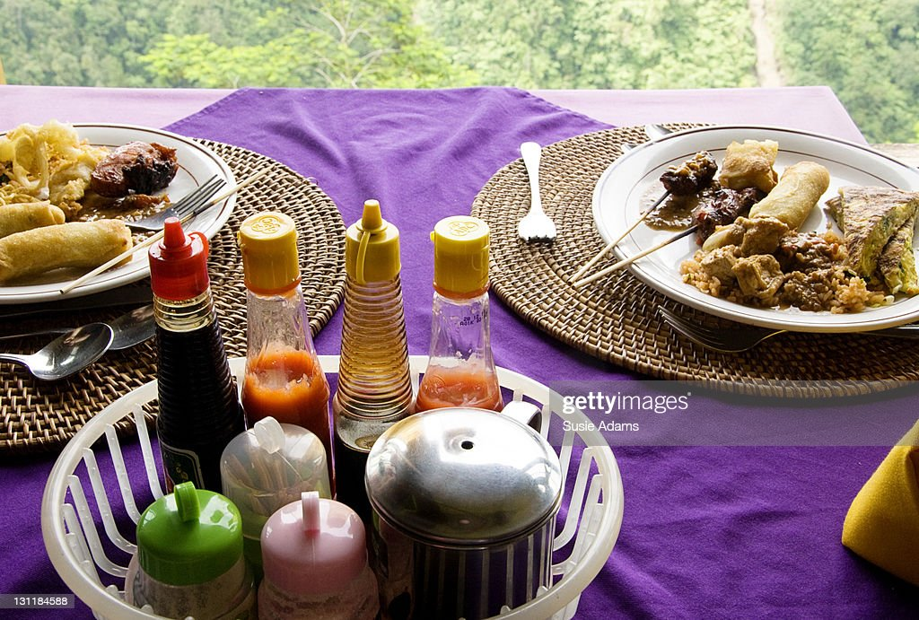 Balinese lunch : Stock Photo