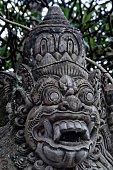 Balinese stone demon