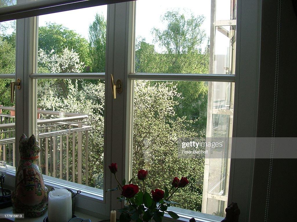 Balkon Von Gunnar Möller Und Christiane Hammacher, Homestory, Pr ... Balkon Im Fruhling Blumen