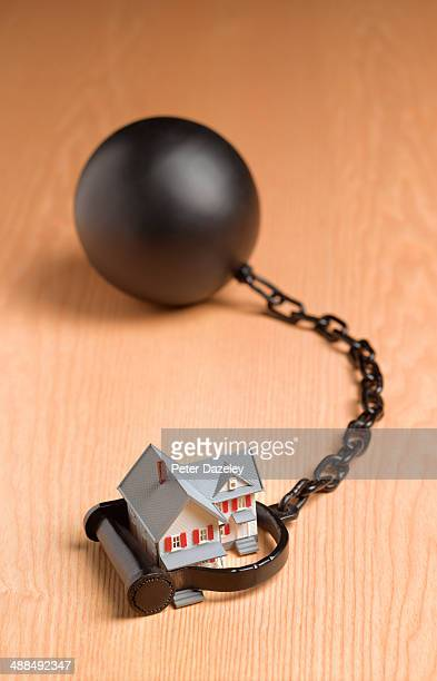 Ball and chain house mortgage