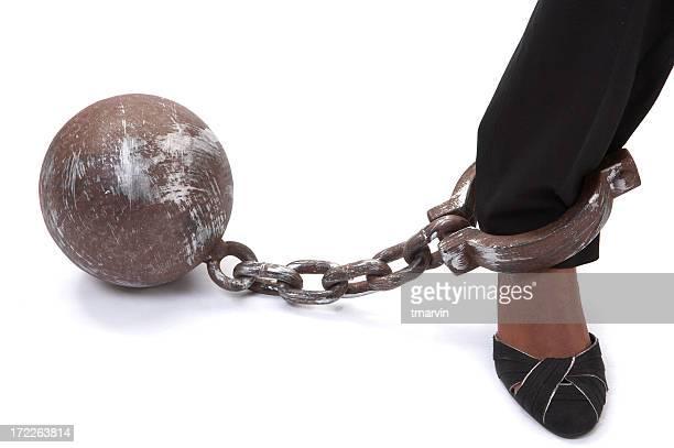 Boulet au pied