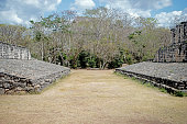 Mayan Ball Court at the Ek Balam
