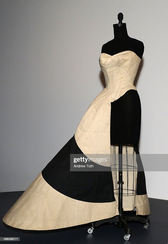 Ball gown by Charles James on display during The Metropolitan Museum Of Art Presents: Charles James Exhibition press preview at Metropolitan Museum of Art on February 10, 2014 in New York City.