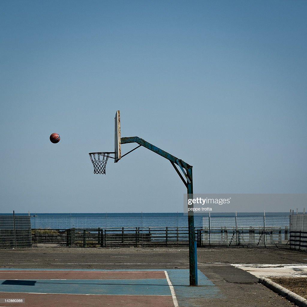 Ball in air