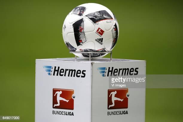 ball logo bundesligaduring the Bundesliga match between 1 FC Koln and Bayern Munich on March 04 2017 at the RheinEnergie Stadium in Koln Germany