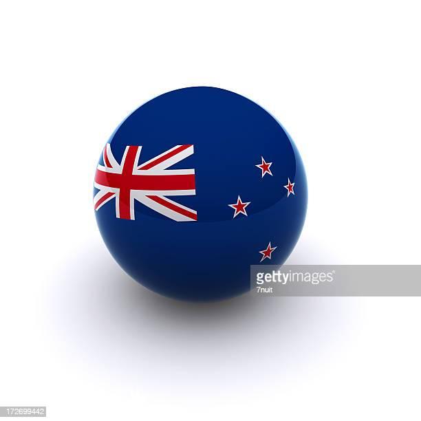 3D Ball - New Zealand Flag