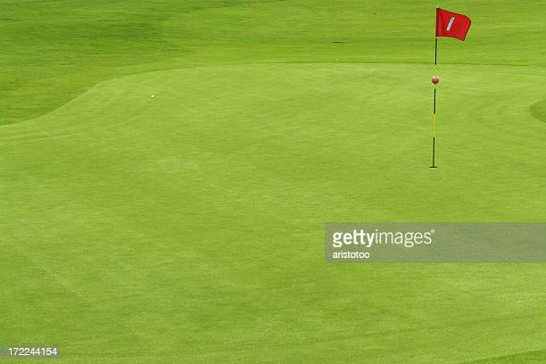 Ball on Putting Green
