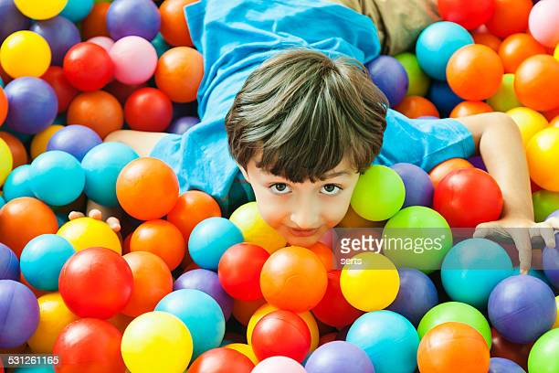 Ball pool boy