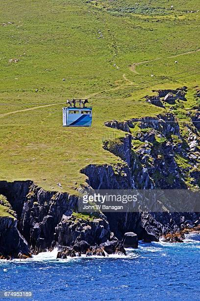 Ballaghboy Cable Car. Dursey Island, Ireland