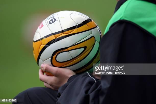 Ballboy holds a matchball