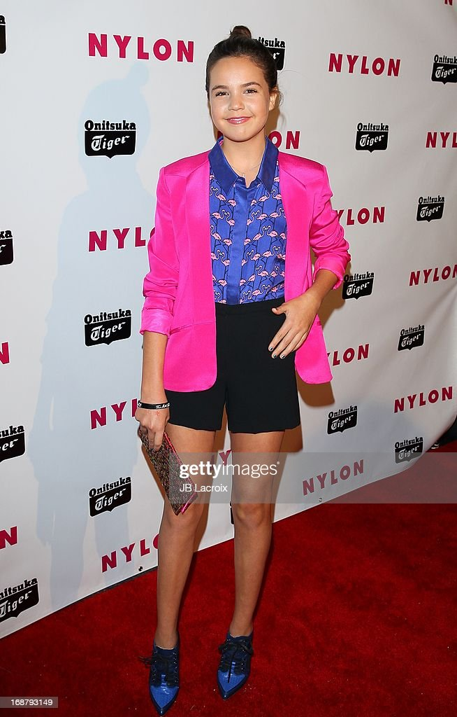 Ballee Madison attends the NYLON Magazine Annual May Young Hollywood Issue Party at The Roosevelt Hotel on May 14, 2013 in Hollywood, California.