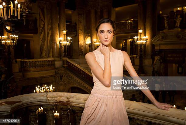 Ballerina Dorothee Gilbert is photographed for Madame Figaro on January 27 2015 in Paris France PUBLISHED IMAGE CREDIT MUST READ Louis...