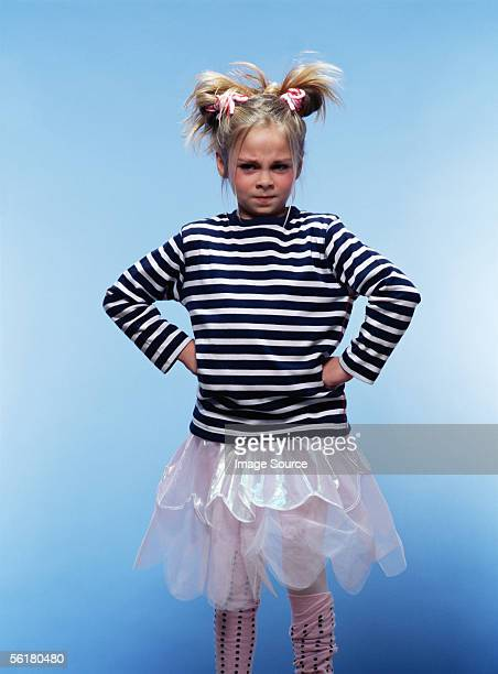 Ballerina having a tantrum