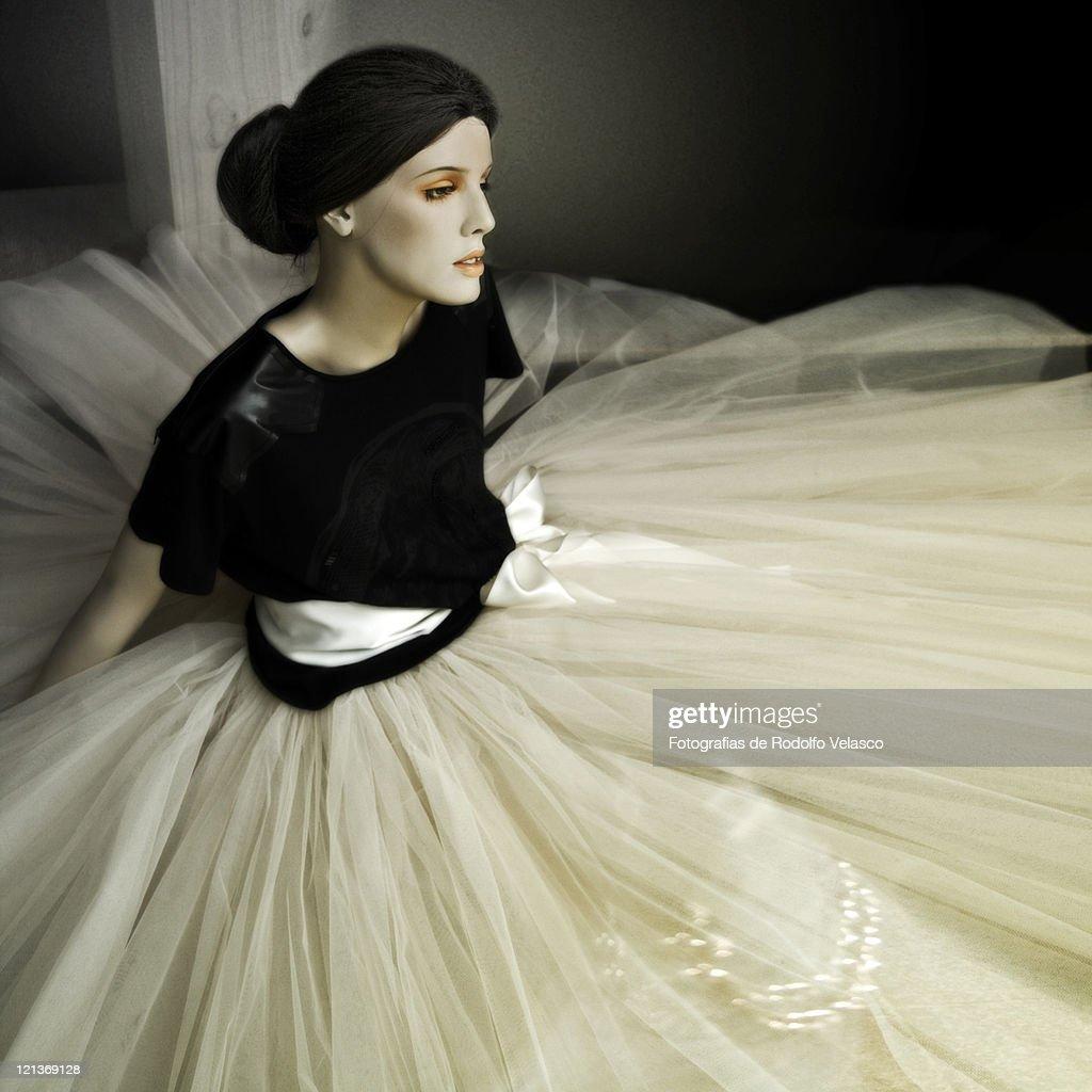 Ballerina mannequin : Stock Photo