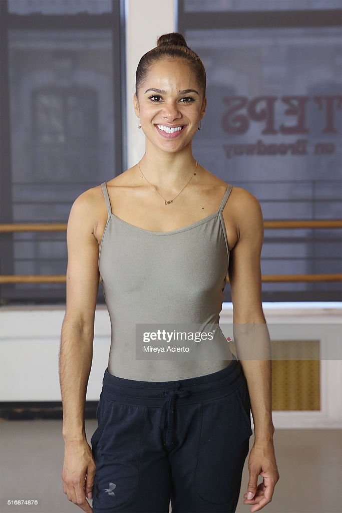 Turnaround Arts Student from P.S. 284 Lew Wallace Dances With Ballerina Misty Copeland