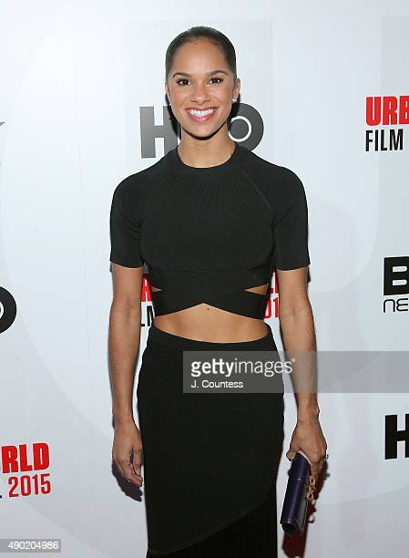 Ballerina Misty Copeland attends the closing night screening of 'A Ballerina's Tale' on day 4 of the 2015 Urbanworld Film Festival at AMC Empire 25...