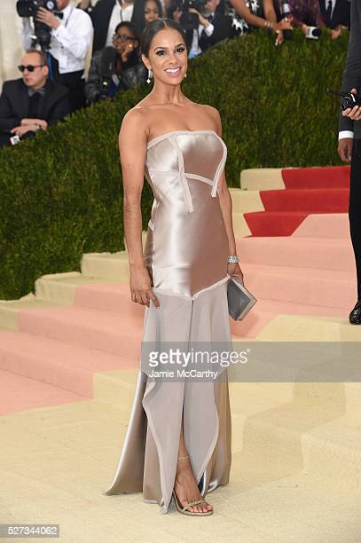 Ballerina Misty Copeland attends the 'Manus x Machina Fashion In An Age Of Technology' Costume Institute Gala at Metropolitan Museum of Art on May 2...