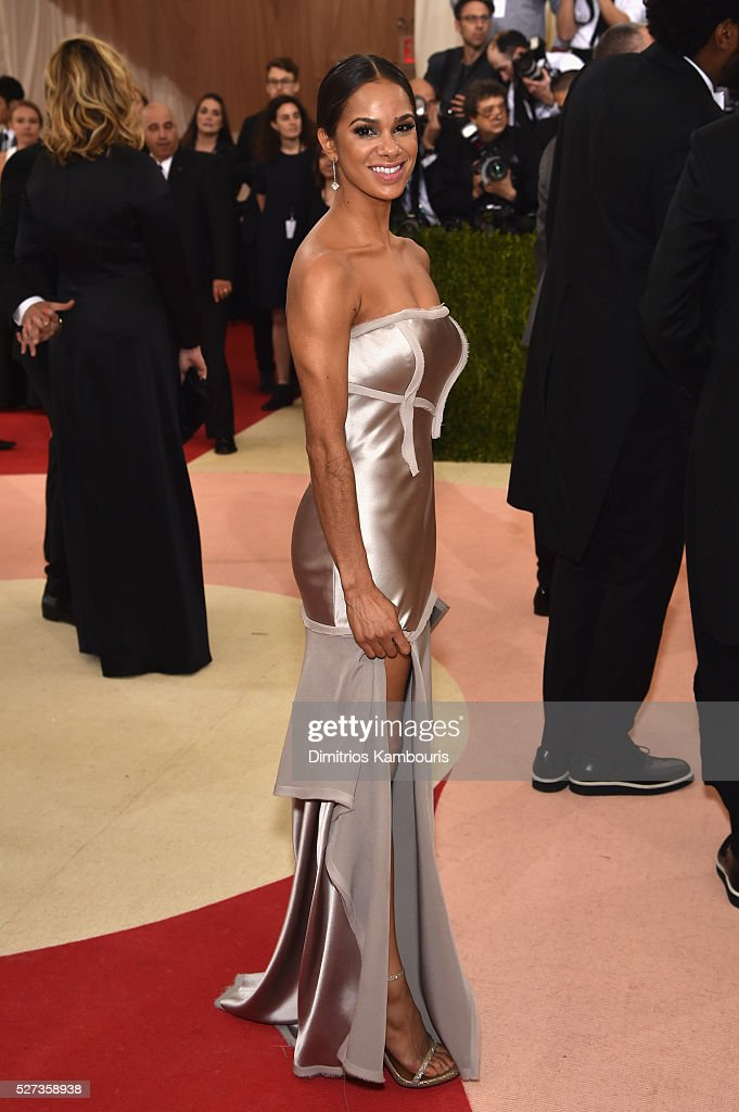 Ballerina Misty Copeland attends the 'Manus x Machina: Fashion In An Age Of Technology' Costume Institute Gala at Metropolitan Museum of Art on May 2, 2016 in New York City.