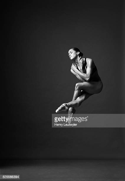 Ballerina Misty Copeland is photographed for Self Assignment on November 30 2015 in New York City