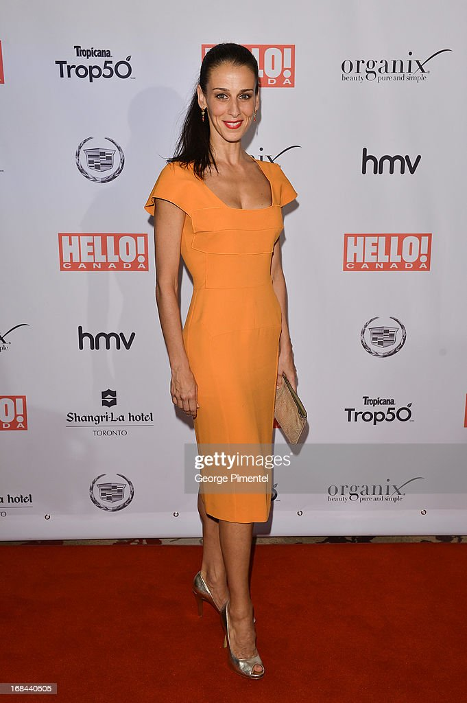 Ballerina Sonia Rodriguez arrives at the Hello! Canada gala celebrating Canada's 50 Most Beautiful at at Shangri-La Hotel on May 9, 2013 in Toronto, Canada.