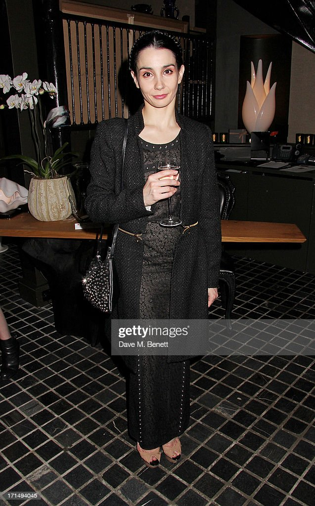 Ballerina Tamara Rojo attends an exclusive preview of the 'Thomas Campbell Paints Lily and Lionel' collection of wearable art, in association with the English National Ballet, at CoutureLab on June 25, 2013 in London, England.