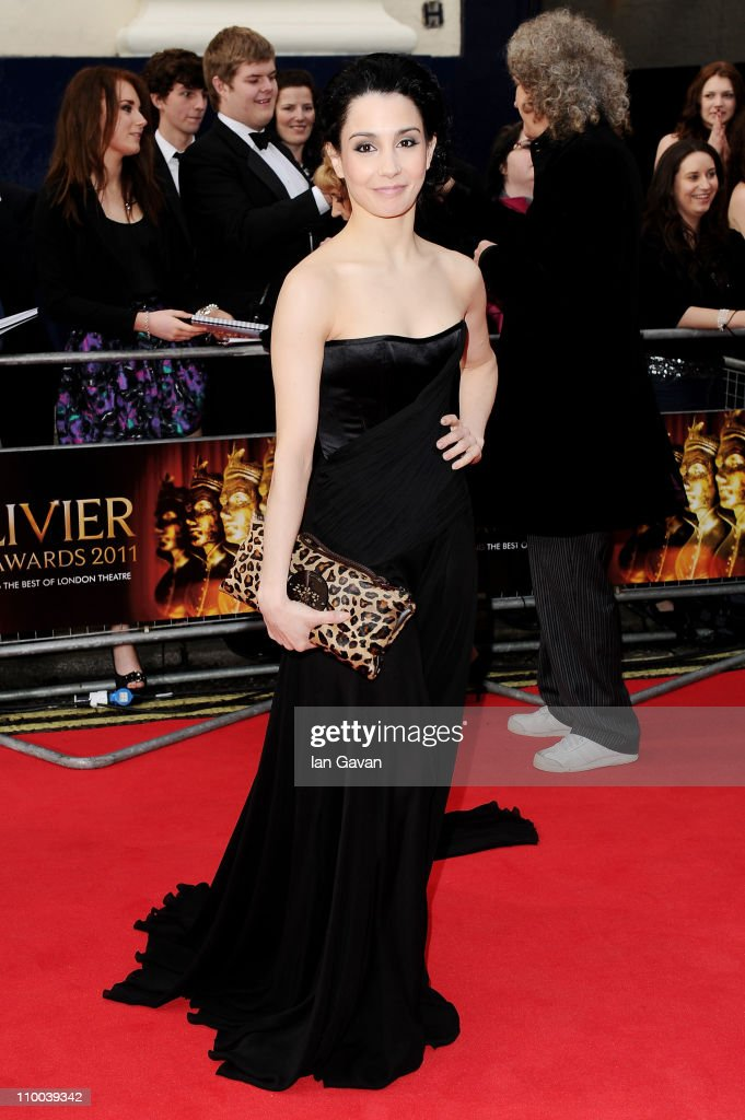 Ballerina Tamara Rojo attends The Olivier Awards 2011 at Theatre Royal on March 13, 2011 in London, England.