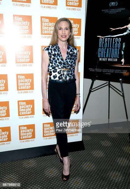 Ballerina Wendy Whelan attends the 'Restless Creature Wendy Whelan' Opening Night Screening at Elinor Bunin Munroe Film Center on May 24 2017 in New...