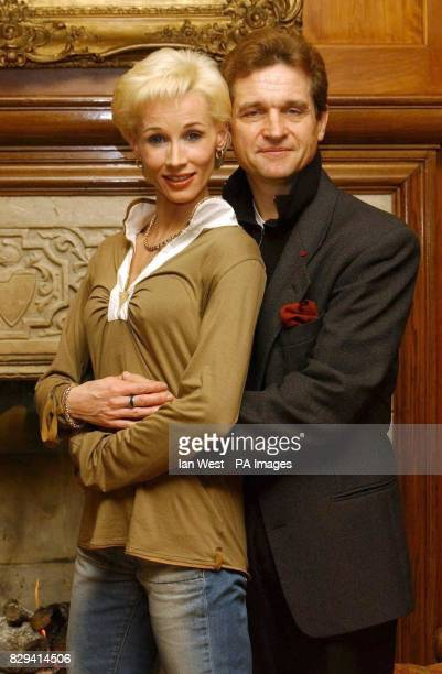 Ballerina Zara Deakin and creator/director Peter Schaufuss during a photocall to launch his new production of 'Diana The Princess' at the Covent...