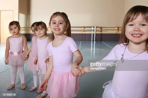 Ballerinas Having Fun