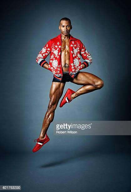 Ballet dancer and soloist of The Royal Ballet Eric Underwood is photographed for the Times on February 26 2016 in London England