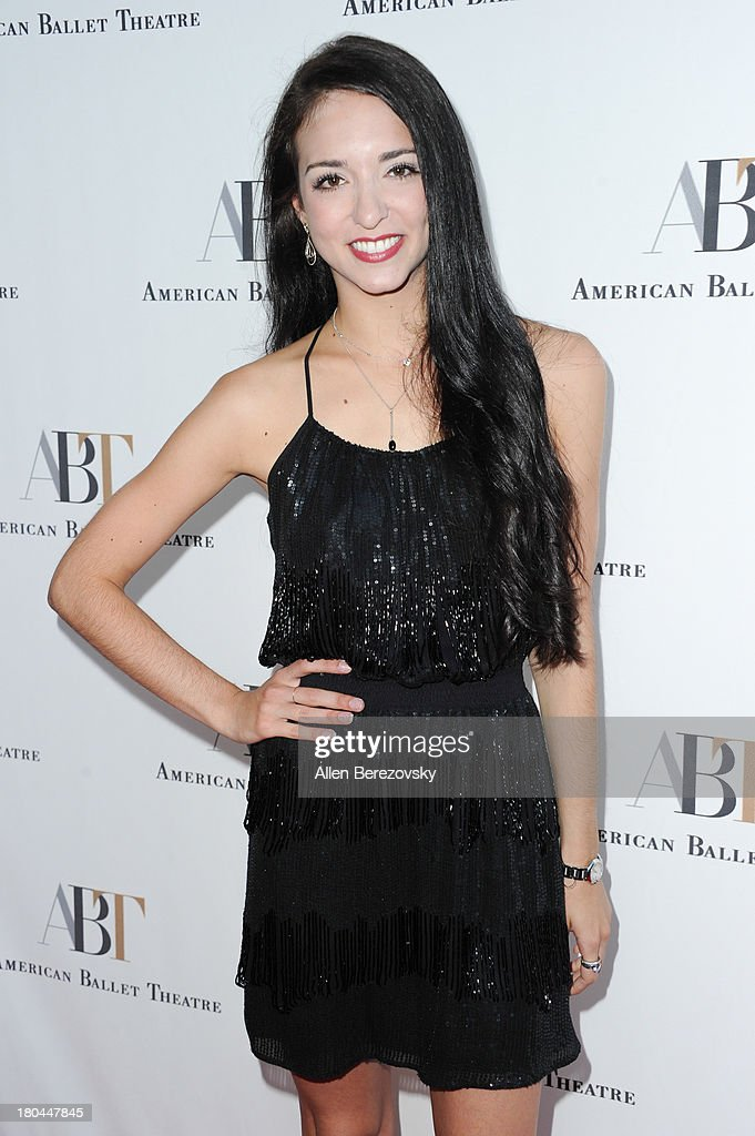 Ballet dancer April Giangeruso attends American Ballet Theatre's annual 'Stars Under The Stars: An Evening In Los Angeles' event on September 12, 2013 in Hollywood, California.