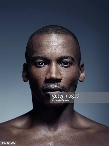 Ballet dancer Eric Underwood is photographed for ES magazine on September 27 2015 in London England