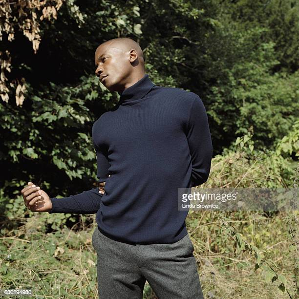 Ballet dancer Eric Underwood is photographed for the Guardian on October 14 2016 in London England