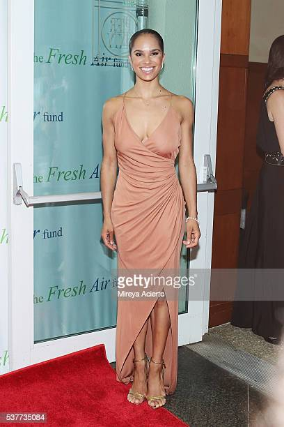Ballet dancer for American Ballet Theatre Misty Copeland attends the Fresh Air Fund 140th Birthday Celebration and 2016 Spring Benefit at Pier Sixty...