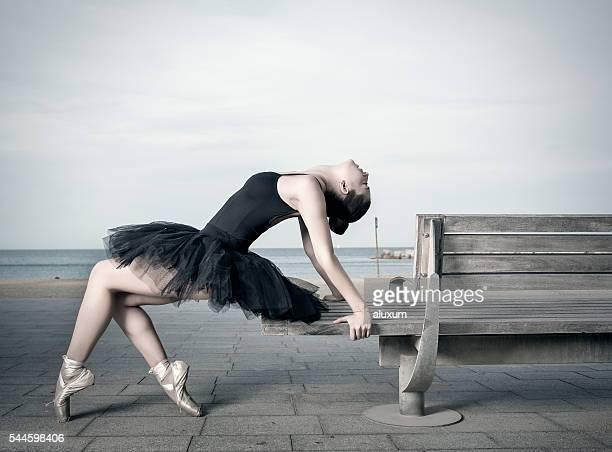 Danseur de Ballet dans la ville