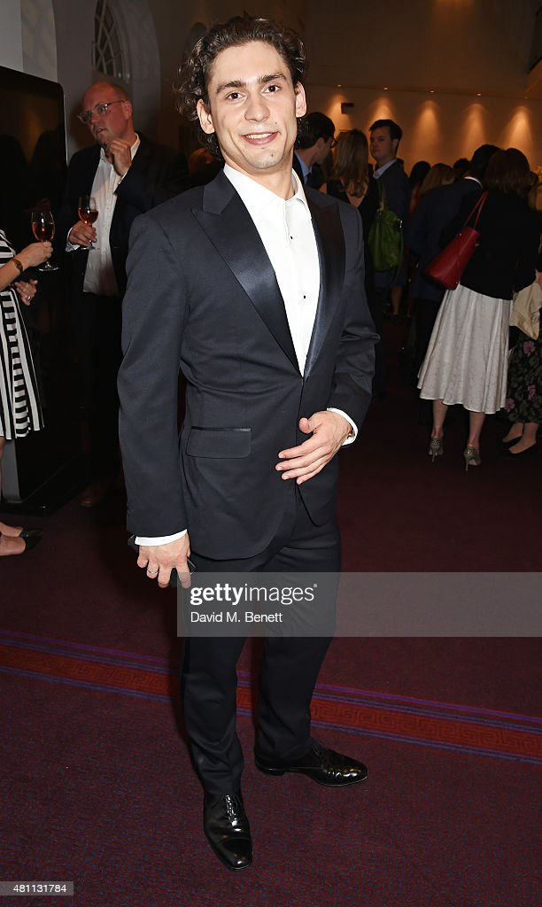 Ballet dancer Ivan Vasiliev attends a post-show drinks reception following the Ardani 25 Dance Gala at The London Coliseum on July 17, 2015 in London, England.
