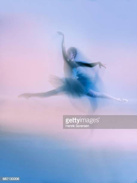 Ballet dancer long exposure