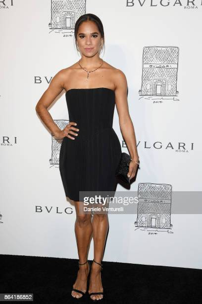 Ballet dancer Misty Copeland attends a party to celebrate the Bvlgari Flagship Store Reopening on October 20 2017 in New York City