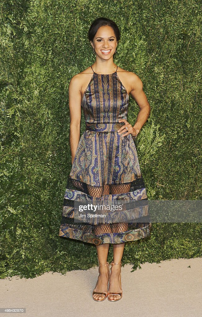 Ballet Dancer Misty Copeland attends the 12th annual CFDA/Vogue Fashion Fund Awards at Spring Studios on November 2, 2015 in New York City.
