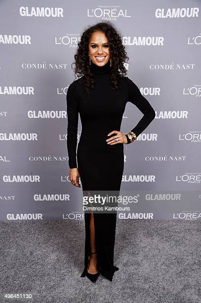 Ballet dancer Misty Copeland attends the 2015 Glamour Women Of The Year Awards at Carnegie Hall on November 9 2015 in New York City