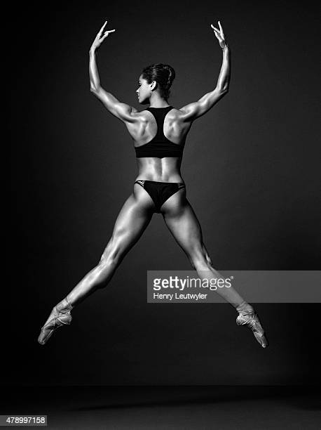 Ballet dancer Misty Copeland is photographed for Self Assignment on November 25 in New York City