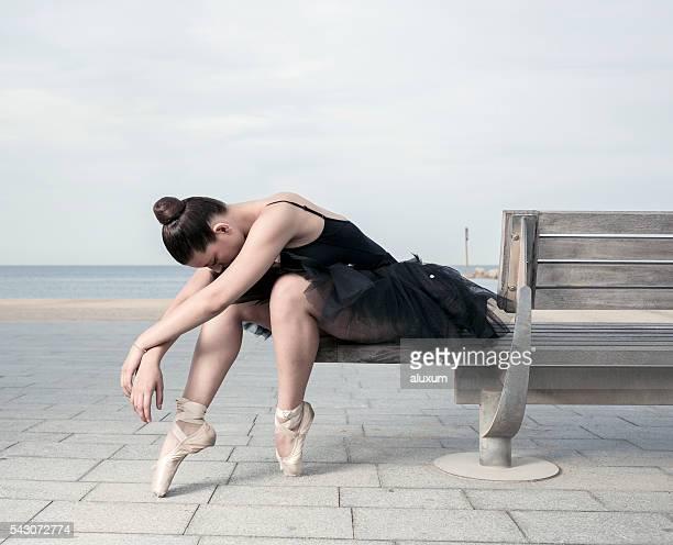 Ballet dancer performance