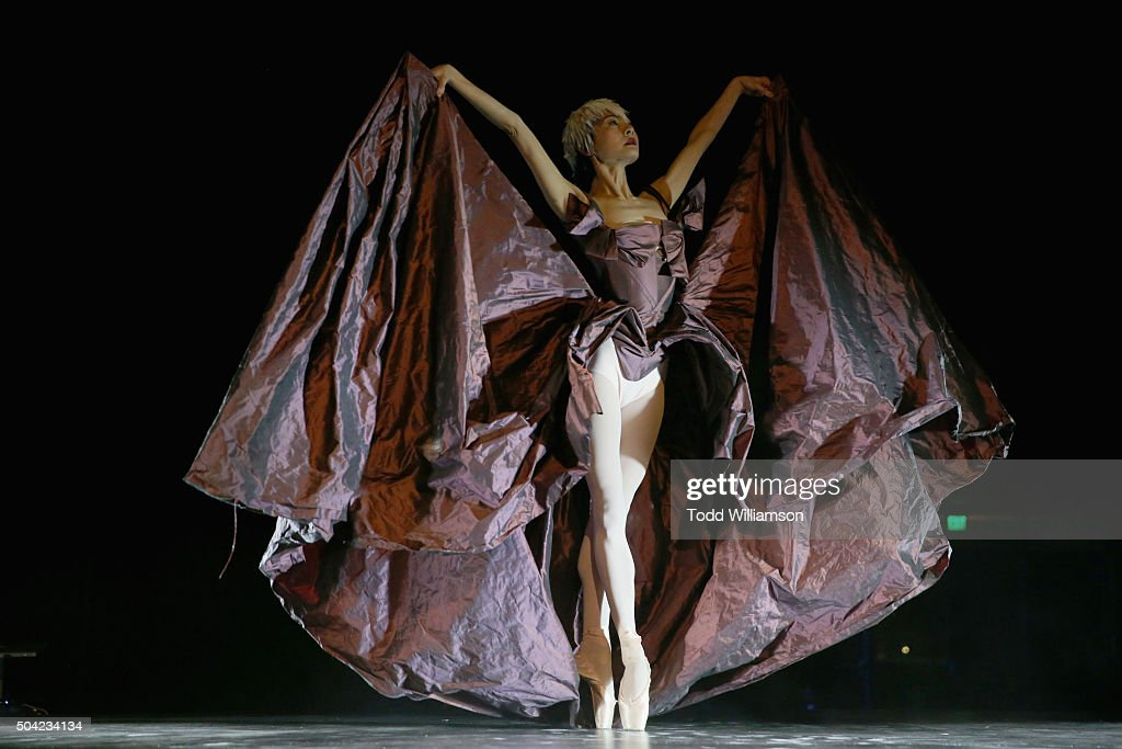 Ballet dancer performs onstage during The Art of Elysium 2016 HEAVEN Gala presented by Vivienne Westwood & Andreas Kronthaler at 3LABS on January 9, 2016 in Culver City, California.
