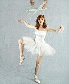 Ballet dancer puppet