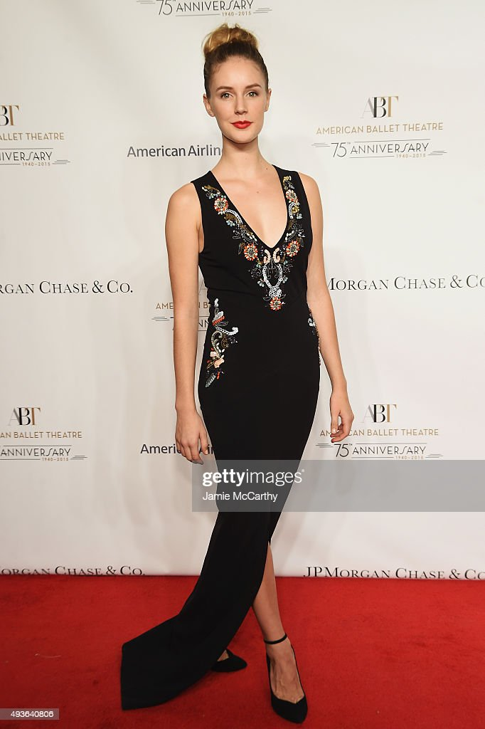 Ballet Dancer Scout Forsythe attends the American Ballet 75th Anniversary Fall Gala at David H. Koch Theater at Lincoln Center on October 21, 2015 in New York City.