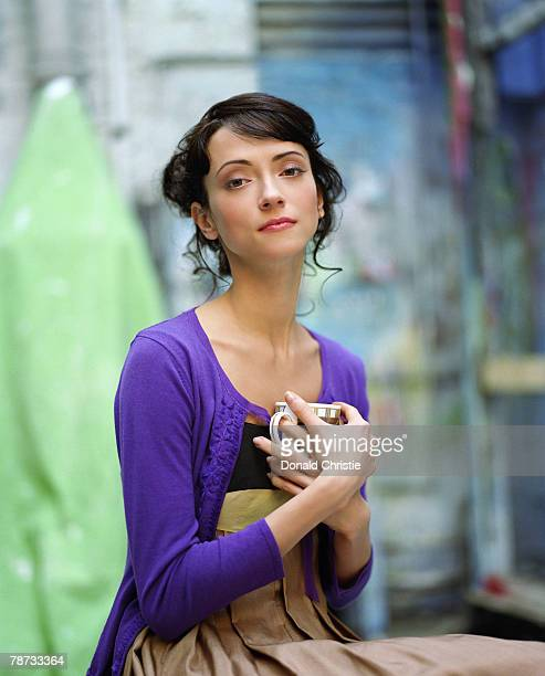 Ballet dancer Svetlana Zakharova poses for a portrait shoot in London for the Telegraph magazine January 21 2007