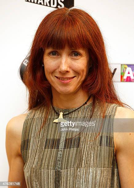 Ballet dancer Sylvie Guillem winner of the Outstanding Achievement award in the press room at the South Bank Sky Arts Awards at The Savoy Hotel on...