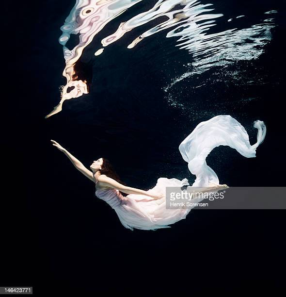 ballet dancer underwater