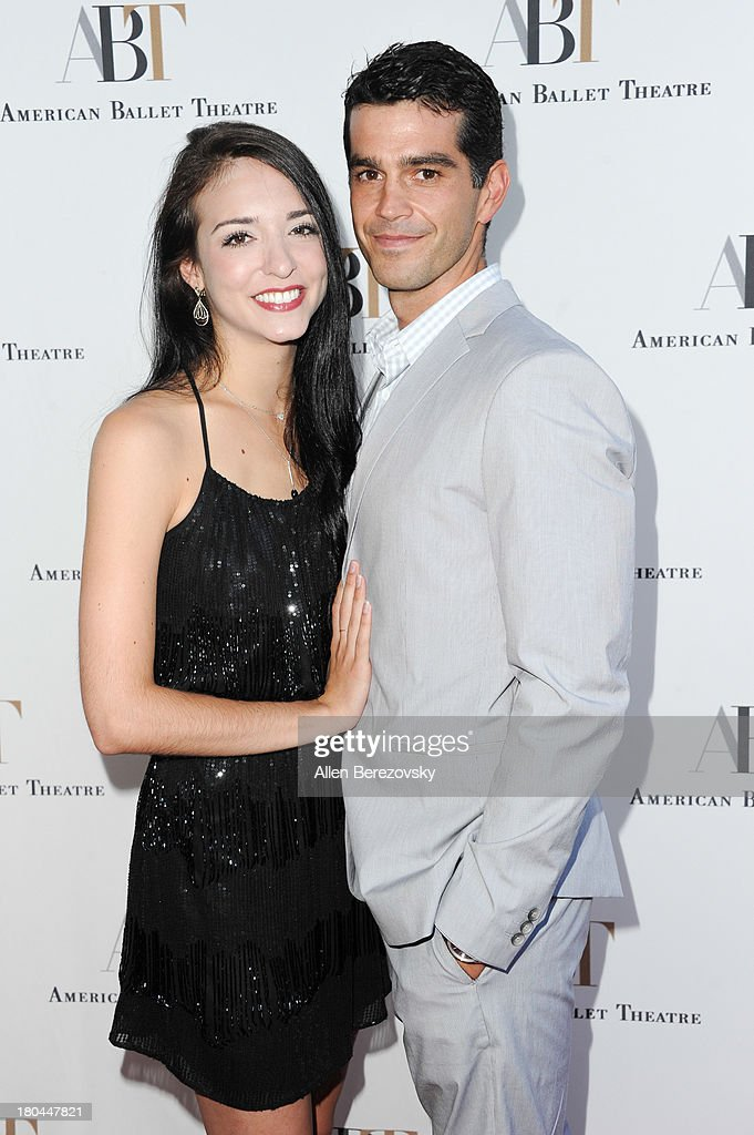 Ballet dancers April Giangeruso and Nathaniel Riley attend American Ballet Theatre's annual 'Stars Under The Stars: An Evening In Los Angeles' event on September 12, 2013 in Hollywood, California.